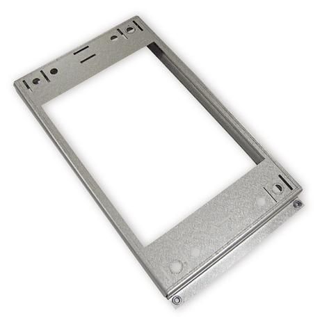 Ceiling mounting metal plate